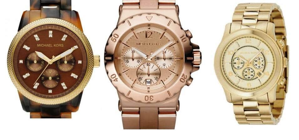 Relojes modernos Michael Kors