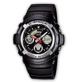 Reloj Casio G-Shock AW-590-1AER – Información antes de comprar