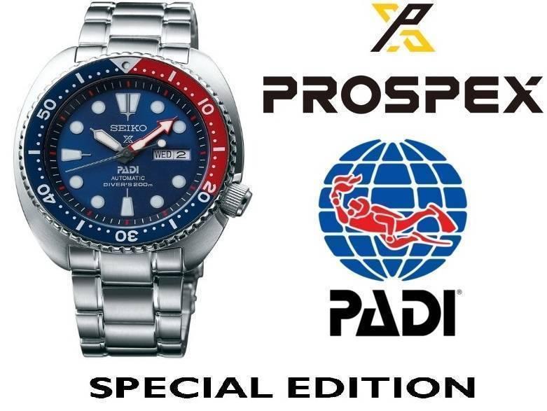 Reloj Seiko Padi Pepsi Tortuga modelo SRPA21 - Prospex Padi