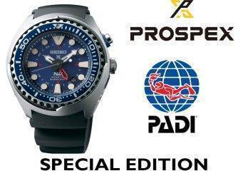 Reloj Seiko Padi modelo Sun065 Kinetic GMT Edición Especial
