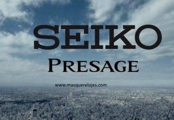 Descubre el elegante mundo de los Relojes Seiko Presage