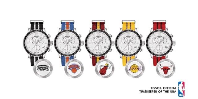 Relojes Tissot NBA colección