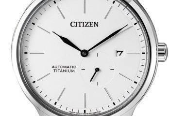 Reloj Citizen Automático modelo NJ0090-81A Supertitanium