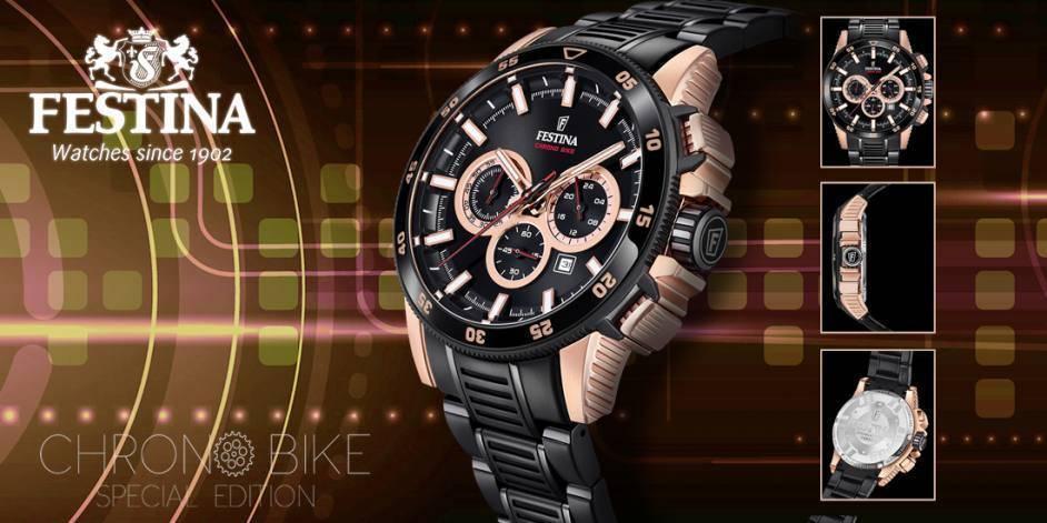 Reloj Festina Chrono Bike 2018 Edición Especial modelo F20354-1 portada