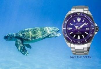 Reloj Seiko Samurai SRPC93K1 Save The Ocean – Prospex Diver