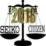 Comparativa marcas de relojes entre Seiko y Citizen – España 2018