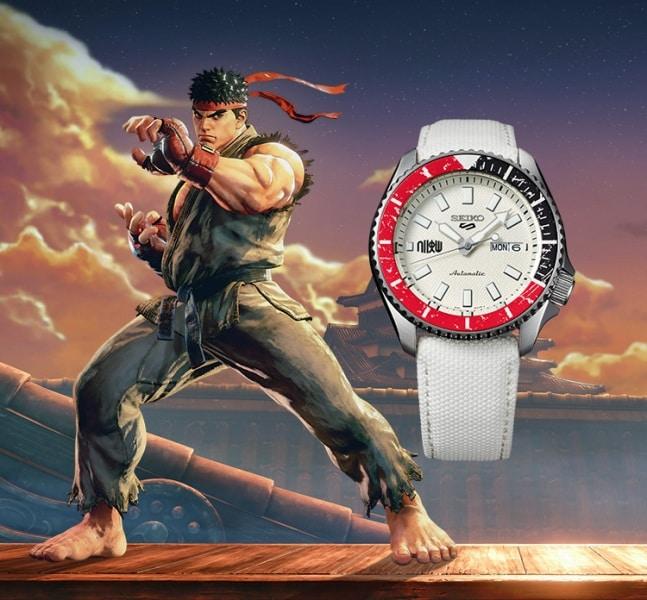 Seiko Ryu Street Fighter