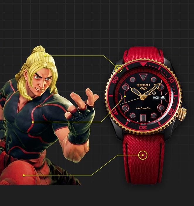 Seiko Serie 5 Street Fighter Ken