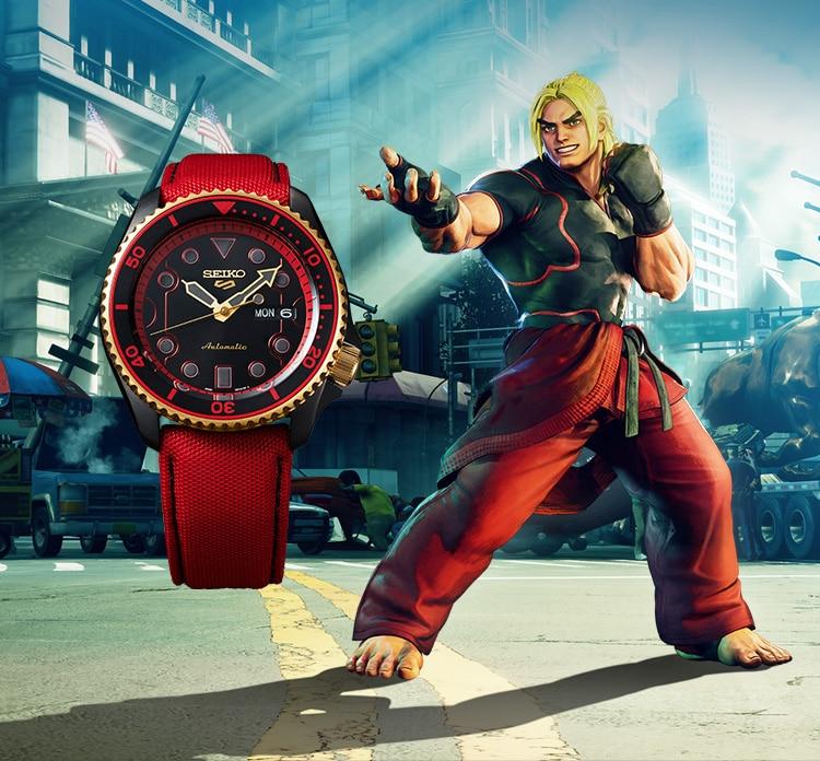 Seiko SRPF20K1 Ken Street Fighter